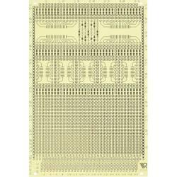 Experimentierplatine (value.1292427) Epoxid (L x B) 160 mm x 100 mm 35 µm Rastermål 2.54 mm WR Rademacher WR-Typ 1120 Indhold 1
