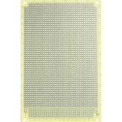 Experimentierplatine (value.1292427) Epoxid (L x B) 160 mm x 100 mm 35 µm Rastermål 2.54 mm WR Rademacher WR-Typ 1160 Indhold 1