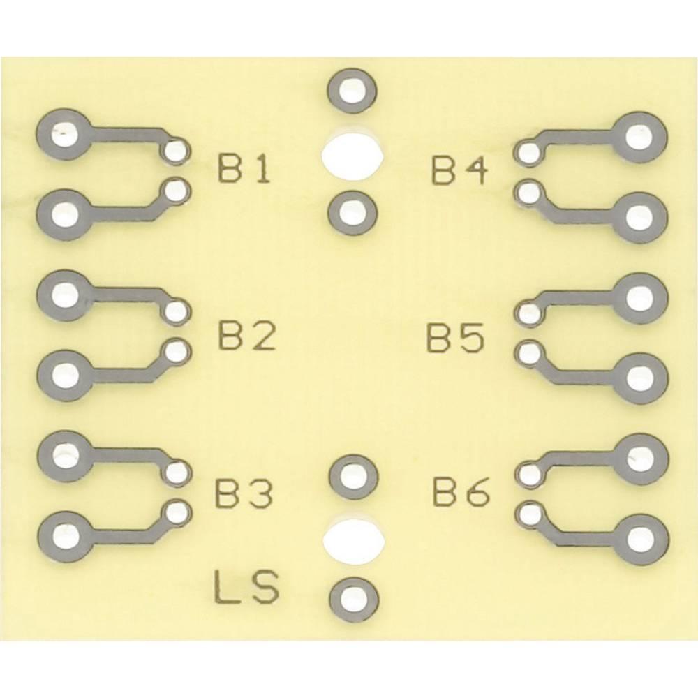 Preizkusna ploščica WR Rademacher, 40 x 37 x 1,5 mm, epoksidher, 40 x 37 x 1,5 mm, epoksid VK C-925-EP