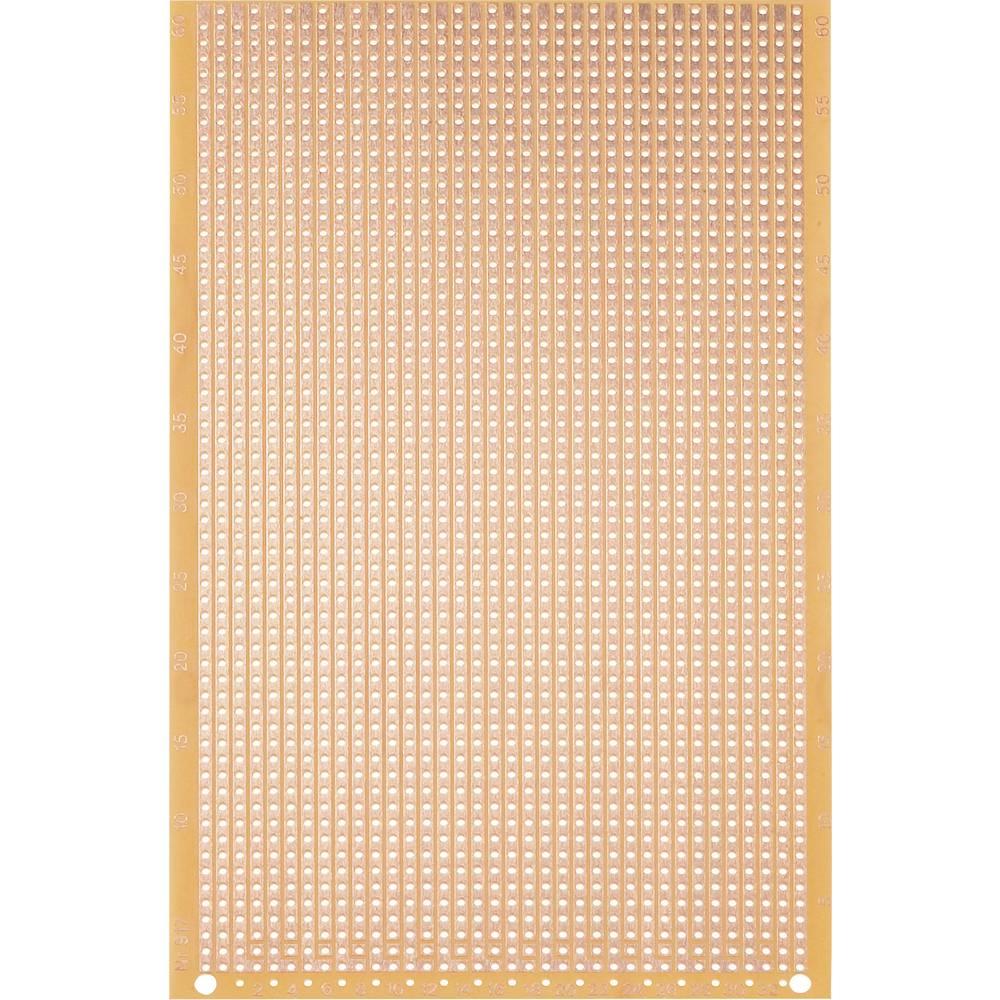 Laboratorijska plošča (D x Ĺ x V) 160 x 100 x 1.5 mm, mere rastra 2.54 mm VK C-917-HP WR Rademacher