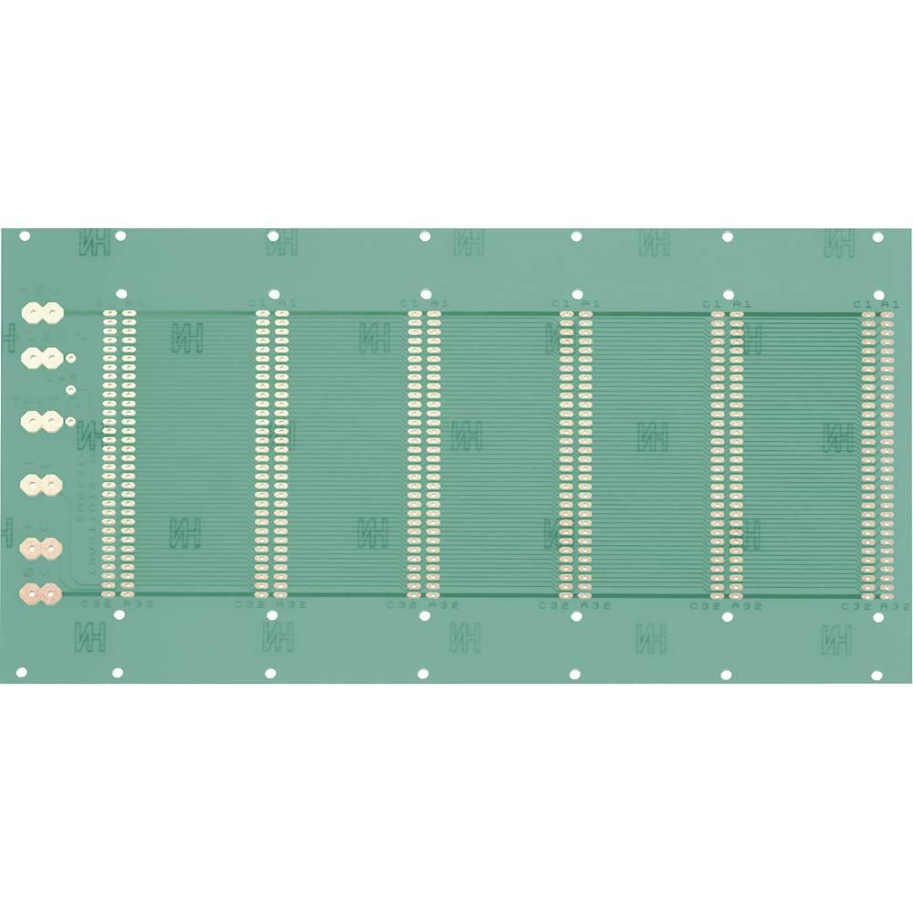 Prüfungsplatine (value.1292429) i henhold til IHK-retningslinjerne Epoxid (L x B) 245 mm x 129 mm 35 µm Rastermål 2.54 mm WR Rad
