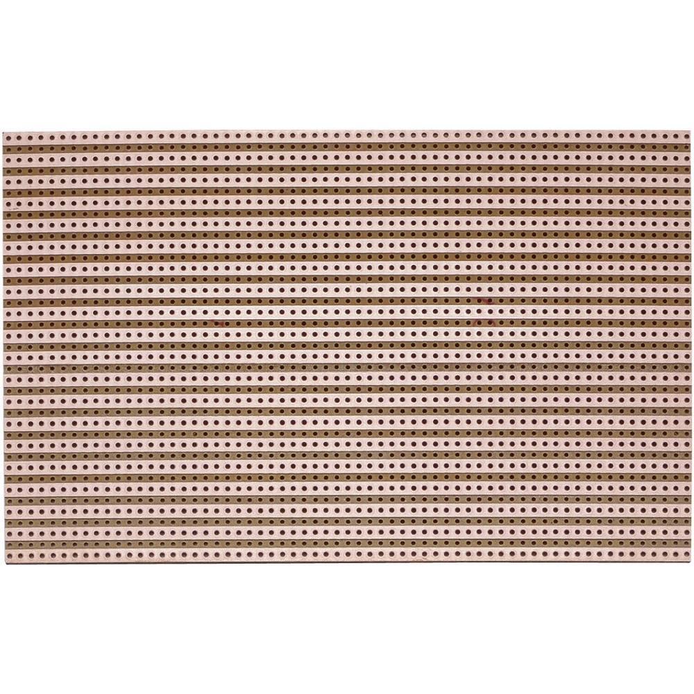 Platine (value.1292430) Hårdt papir (L x B) 160 mm x 100 mm 35 µm Rastermål 5.08 mm WR Rademacher WR-Typ 711 Indhold 1 stk