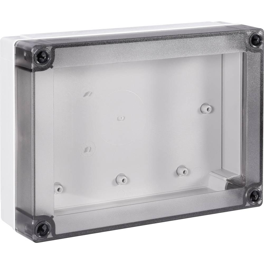 Universalkabinet 180 x 130 x 50 Polycarbonat Lysegrå (RAL 7035) Fibox MNX PC 150/50 LT 1 stk