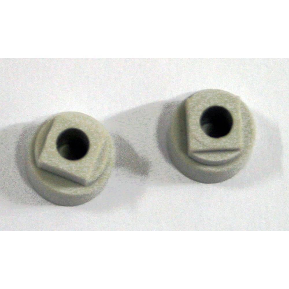 Blændprop Fibox MB 14560 6314560 Polycarbonat Lysegrå 2 stk