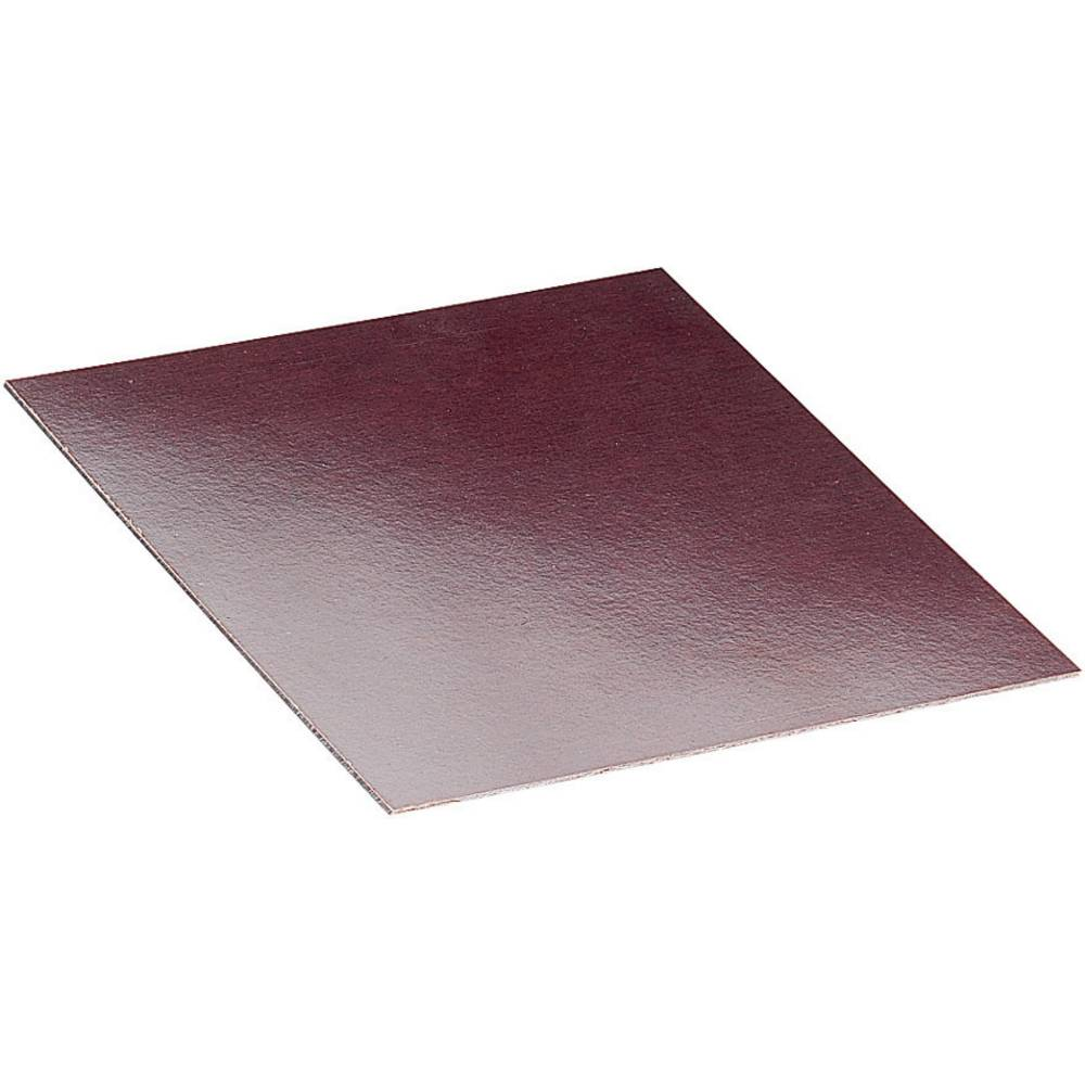 Proma Hard paper mounting plate (L x W x H) 100 x 200 x 1 mm Brown