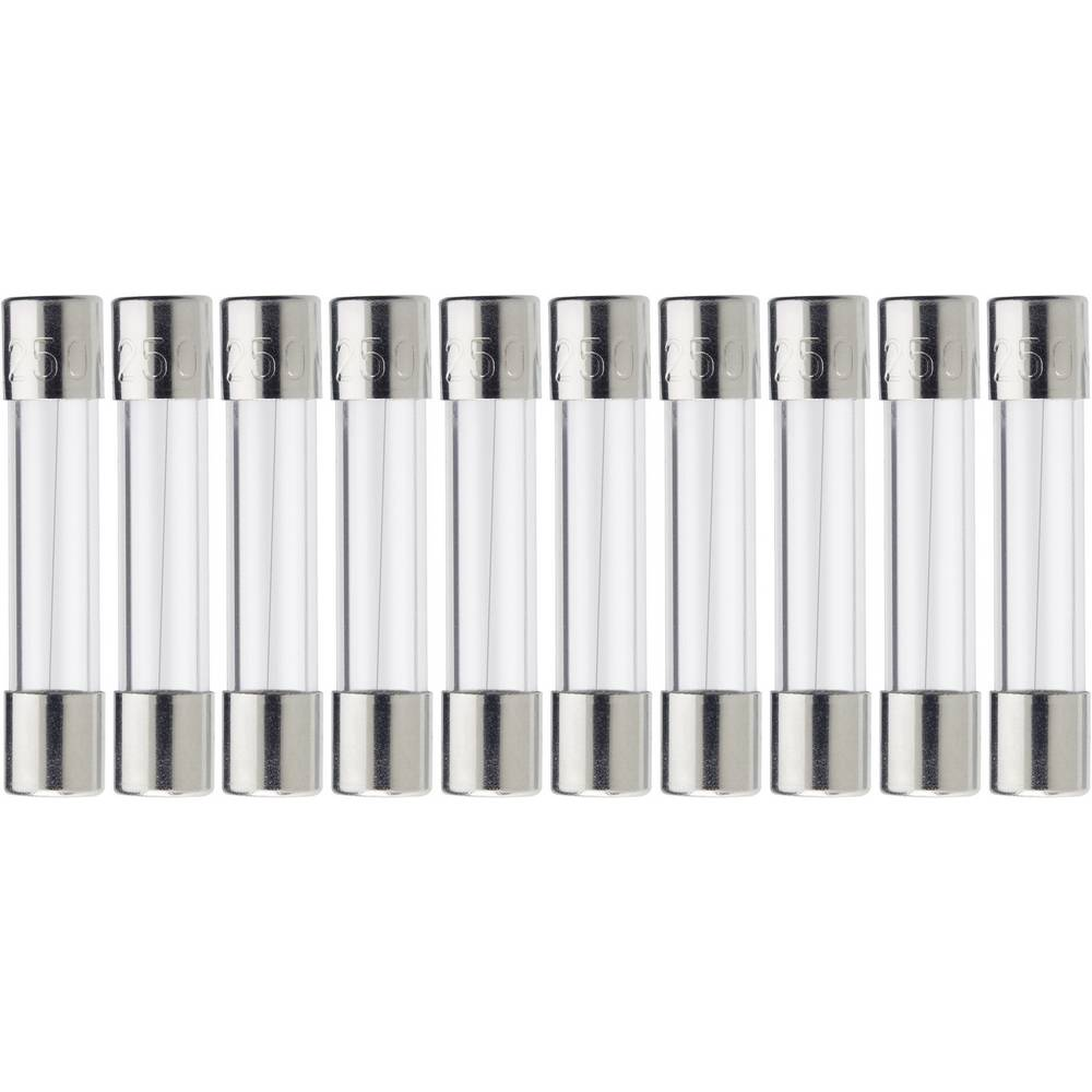 Finsikring (Ø x L) 5 mm x 20 mm 1 A 250 V Middeltræg -mT- ESKA 521017 Indhold 1000 stk