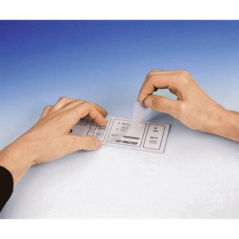 Laminatna folija matirana (zaštitna) veličina DIN A4 prozirna