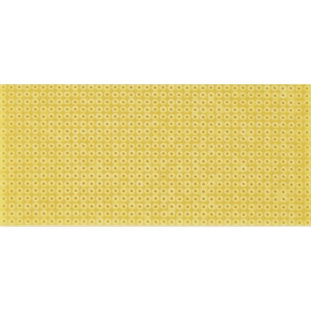 Platine (value.1292430) uden Cu-belægning Hårdt papir (L x B) 100 mm x 75 mm Rastermål 2.54 mm WR Rademacher WR-Typ 712-2 Indhol