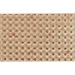 Platine (value.1292430) Epoxid (L x B) 160 mm x 100 mm 35 µm Rastermål 2.54 mm WR Rademacher WR-Typ 811-5 Indhold 1 stk