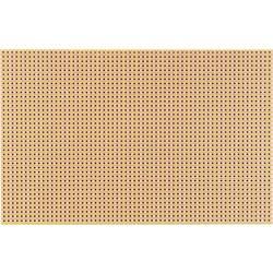 Platine (value.1292430) Hårdt papir (L x B) 160 mm x 100 mm 35 µm Rastermål 2.54 mm WR Rademacher WR-Typ 790-5 Indhold 1 stk