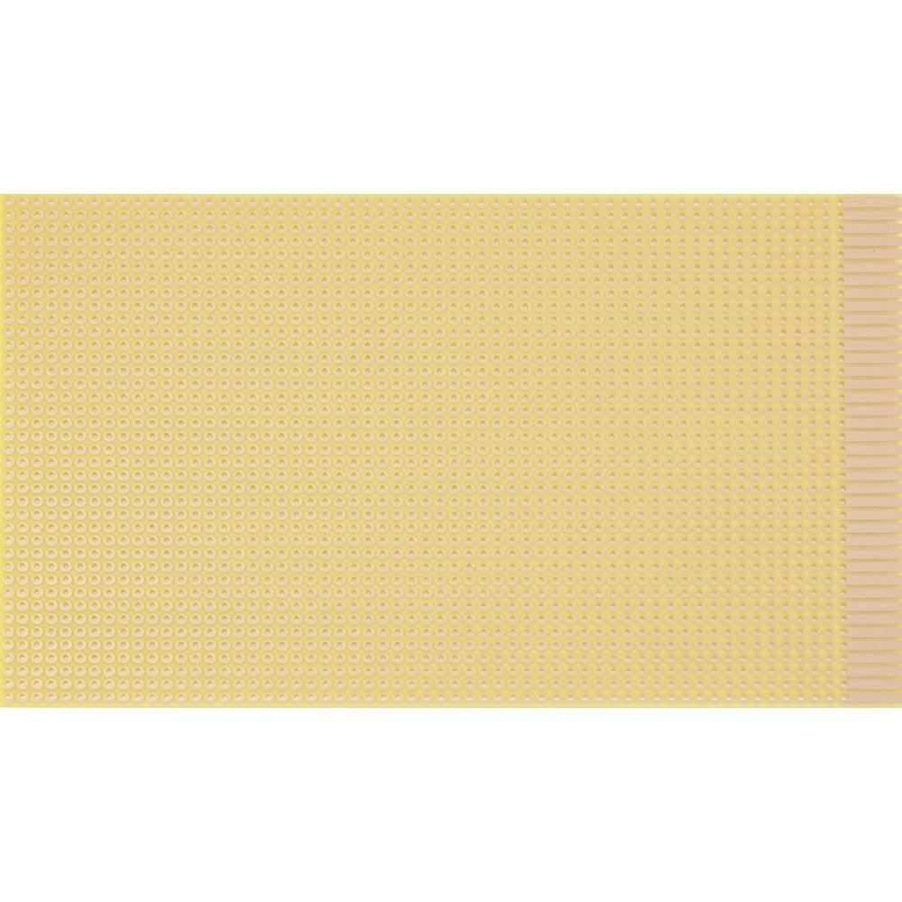 Platine (value.1292430) Hårdt papir (L x B) 160 mm x 100 mm 35 µm Rastermål 2.54 mm WR Rademacher WR-Typ 820 Indhold 1 stk