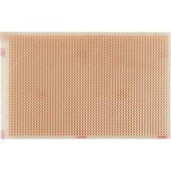 Experimentierplatine (value.1292427) Epoxid (L x B) 160 mm x 100 mm 35 µm Rastermål 2.54 mm WR Rademacher WR-Typ 730 Indhold 1 s