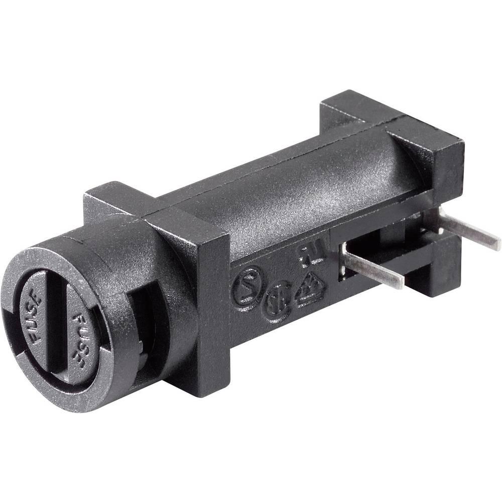 Držalo varovalk, primerno za fino varovalko 5 x 20 mm 10 A 250 V/AC Bulgin FX0457 1 kos