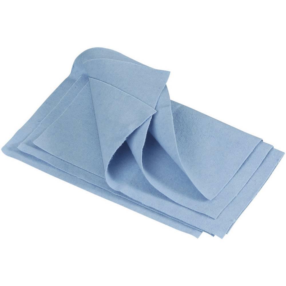 Metal polishing cloths without tarnish protection