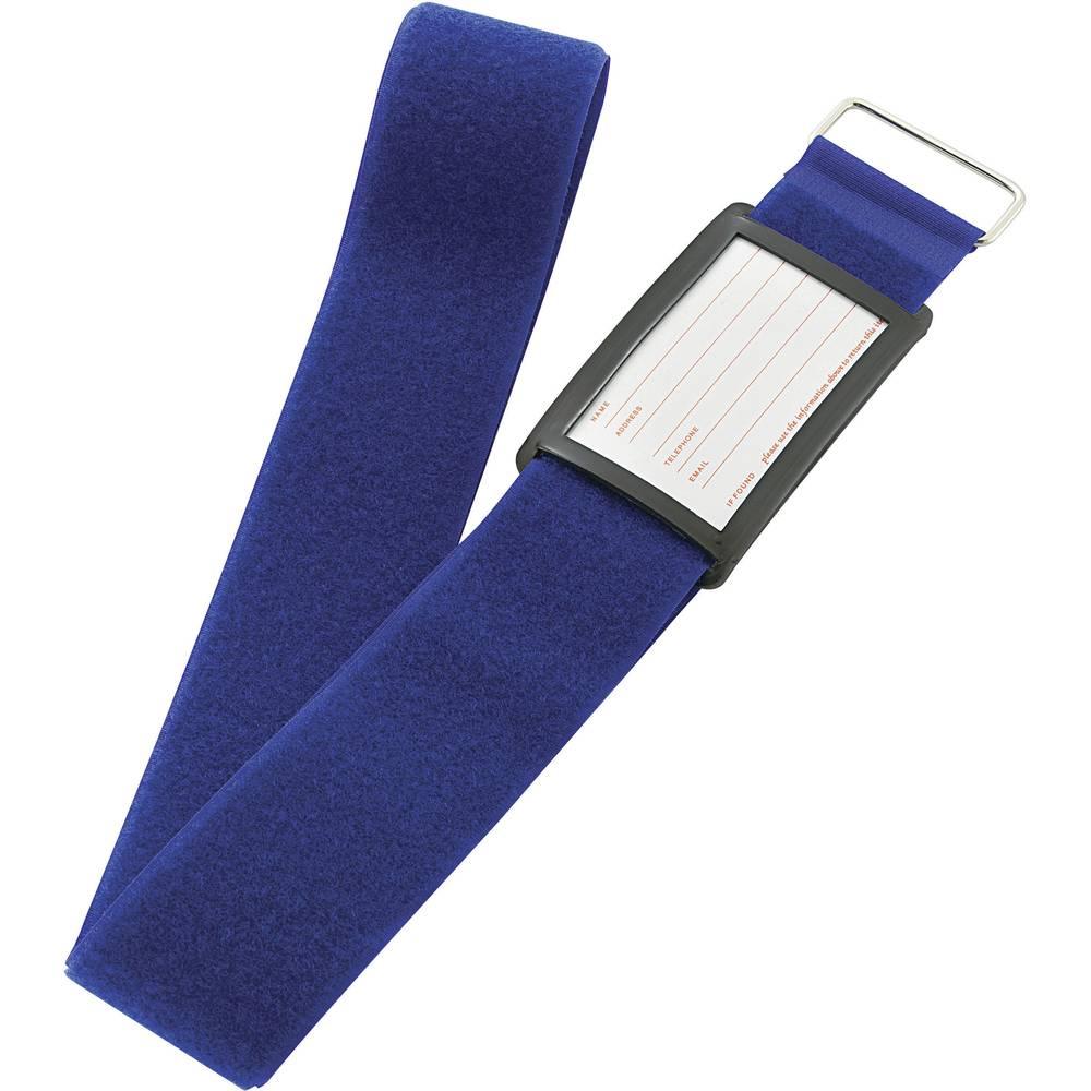 Remen za kofer s čičkom prianjajući i mekani dio (D x Š) 2 m x 60 mm plava VF50/2MBL 1 komad