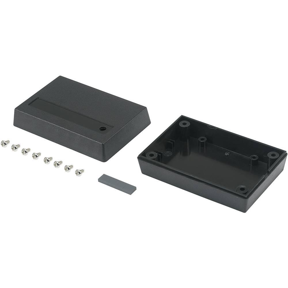 Plastično kućište ABS (DxŠ xV)88 x 58 x 30 mm, crna 98003C11