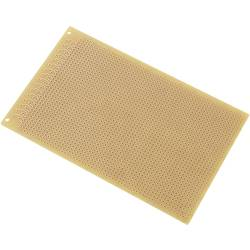 Europlatine (value.1292428) Hårdt papir (L x B) 160 mm x 100 mm 35 µm Rastermål 2.54 mm TRU COMPONENTS SU527413 Indhold 1 stk