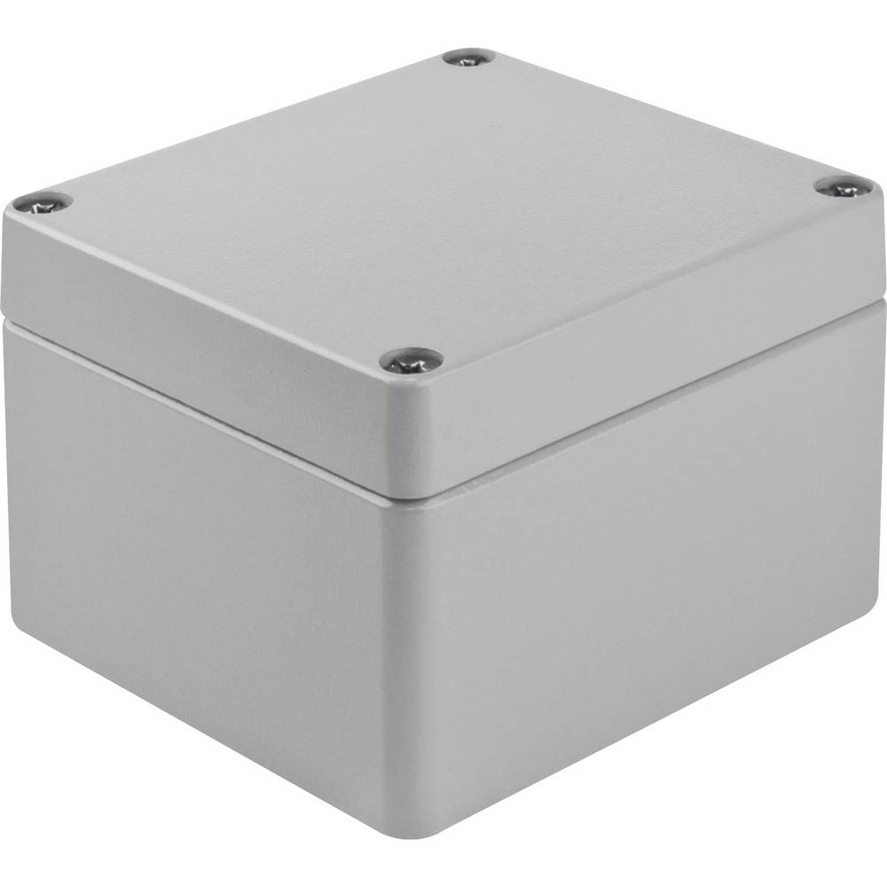 Bopla A 119-Univerzalno kućište, aluminij, srebrno sivo (RAL 7001), 122x120x81mm 01119000.MTC