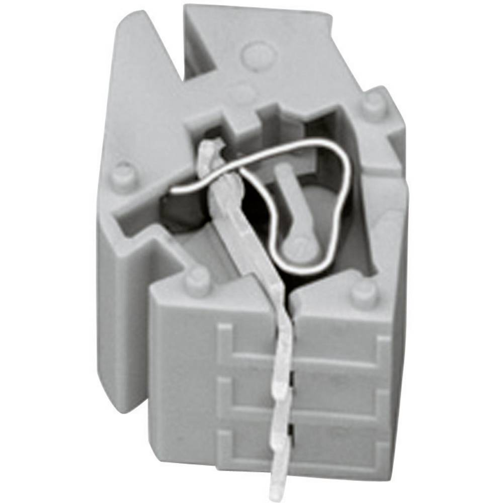 WAGO-Spona, 3-polna, vrstna 789-132, siva, za prazno kućište 55 mm