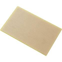 Plošča za tiskano vezje, epoksid (D x Š) 160 mm x 100 mm 35 µm raster 2.54 mm TRU Components SU527427 vsebina: 1 kos