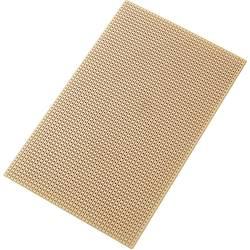 Plošča za tiskano vezje, trdi papir (D x Š) 160 mm x 100 mm 35 µm raster 2.54 mm TRU Components SU527453 vsebina: 1 kos