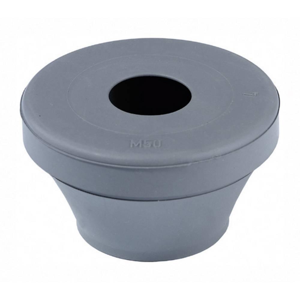 Tesnilni nastavek za speljavo kablov premer sponke (maks.) 28 mm črne barve Wiska FD 40 1 kos