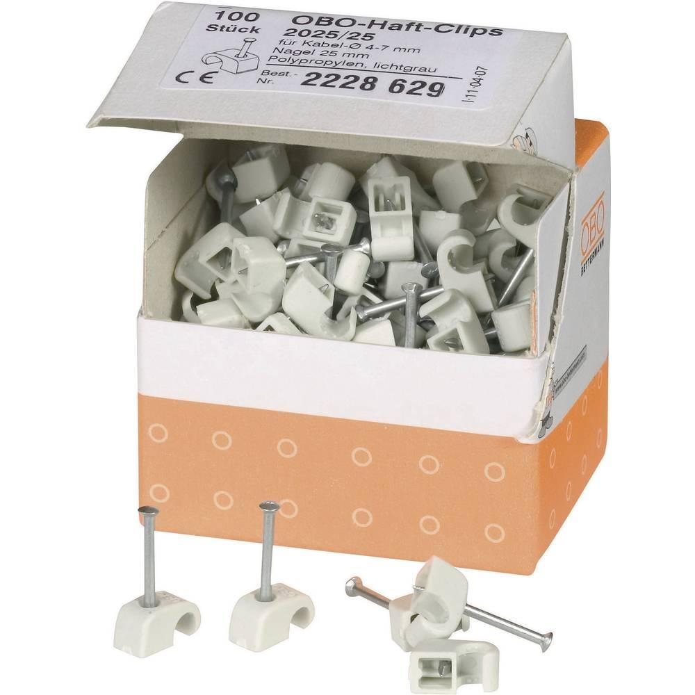 ISO-Kabelska zateznica, siva,OBO Bettermann 2228629