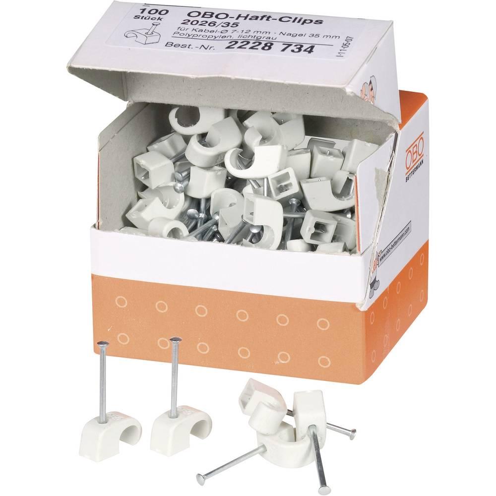 ISO-Kabelska zateznica, siva,OBO Bettermann 2228734