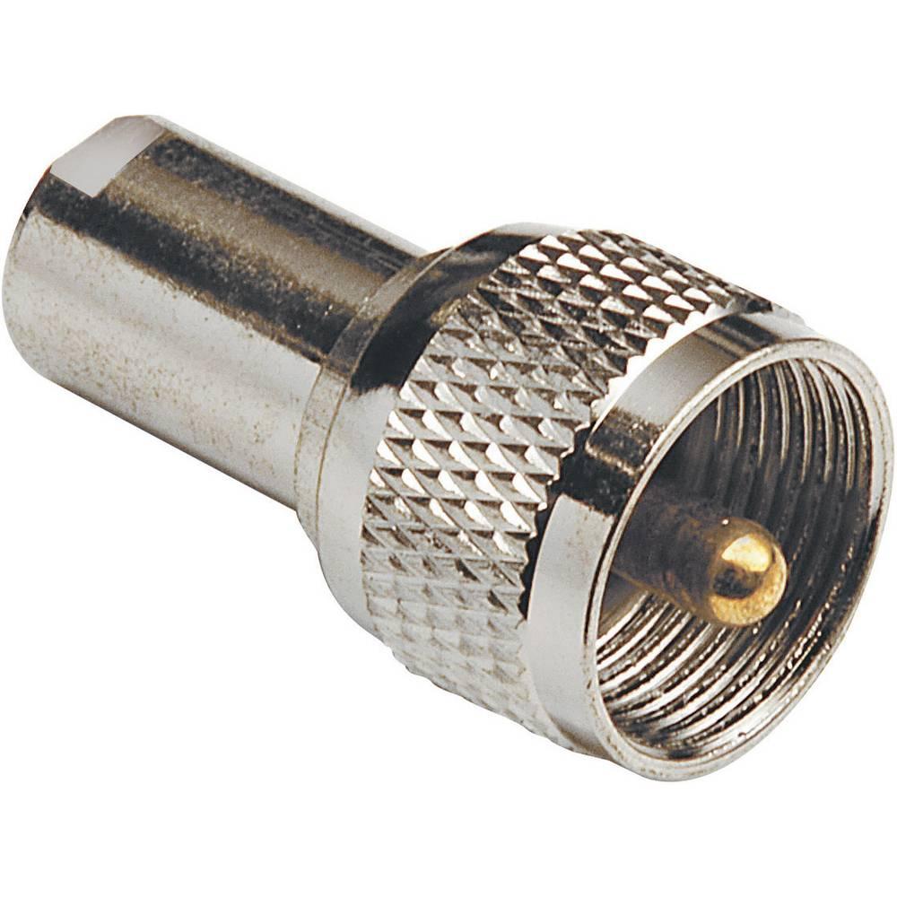 FME-adapter FME-Stecker (value.1390708) - UHF-Stecker (value.1390899) BKL Electronic 0412008 1 stk