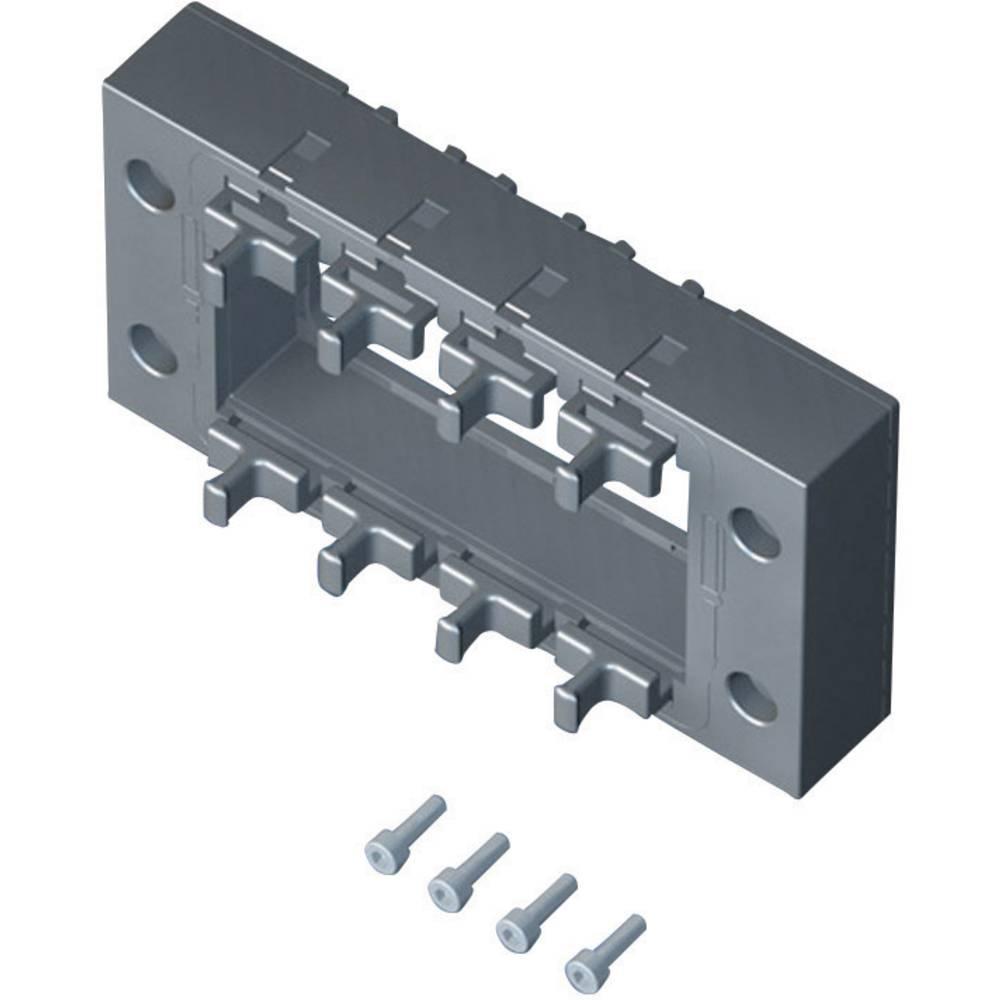 Rittal 2400900-Brtveni okvir za usmjeravanje kablova, 145x67x19mm, IP64, crn, 1 komad 2400.900