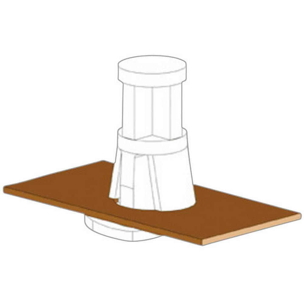 Støttebolte Richco RLCBSB-12-01 Fladt hoved Polyamid Afstandsmål 12 mm 1 stk