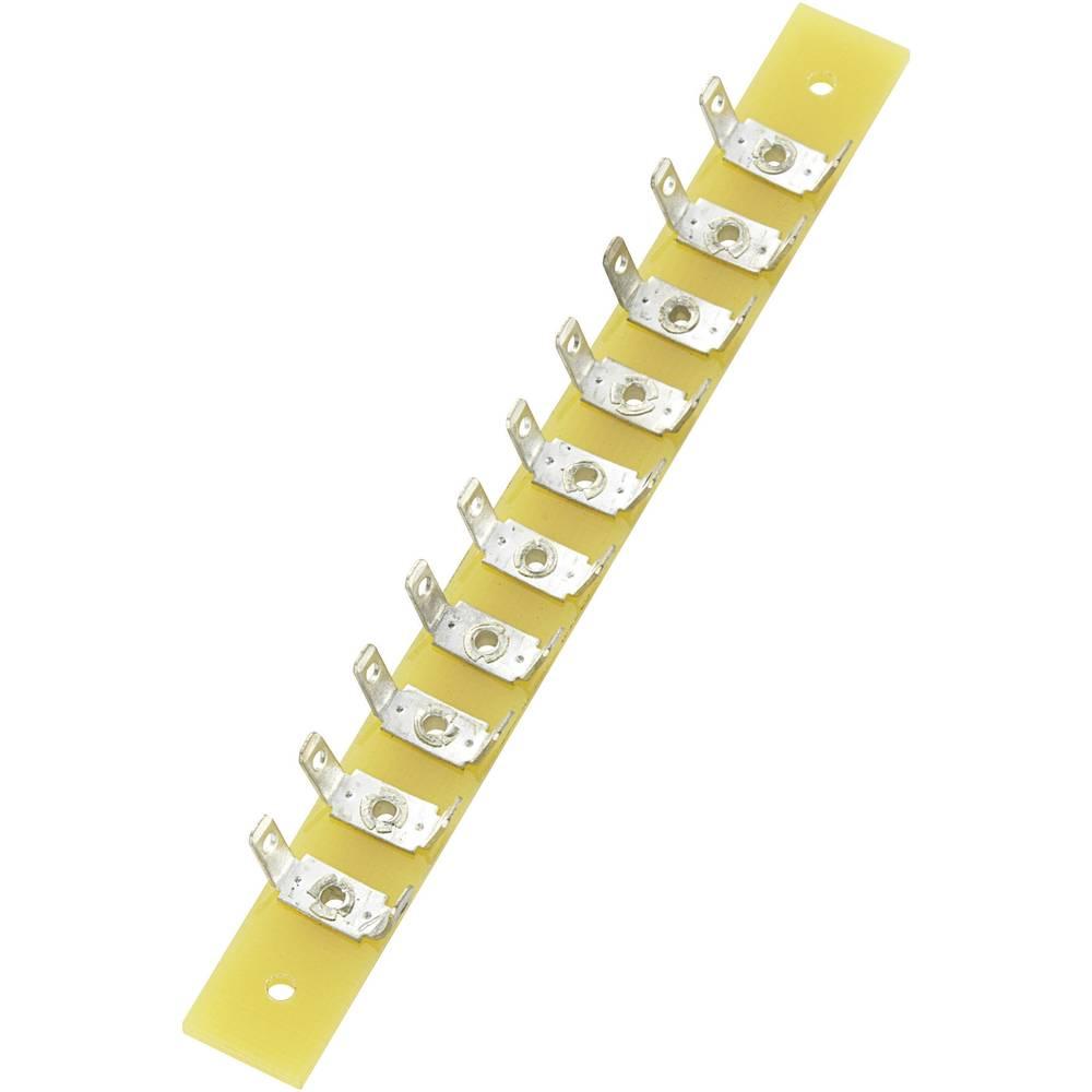 Loddeliste enkeltrække Samlet antal poler 10 Epoxid (L x B x H) 100 x 10 x 1.6 mm Conrad Components 1 stk