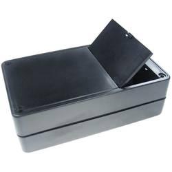 Kemo kućište od umjetne mase sprostorom za baterije G02B, (DxŠxV) 123 x 72 x 39 mm, crni