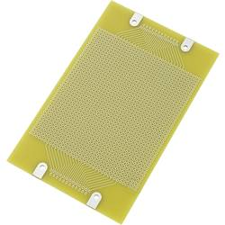 Europlatine (value.1292428) med SUB-D-stikforbindelsestilslutning Epoxid (L x B) 160 mm x 100 mm 35 µm Rastermål 2.54 mm Conrad