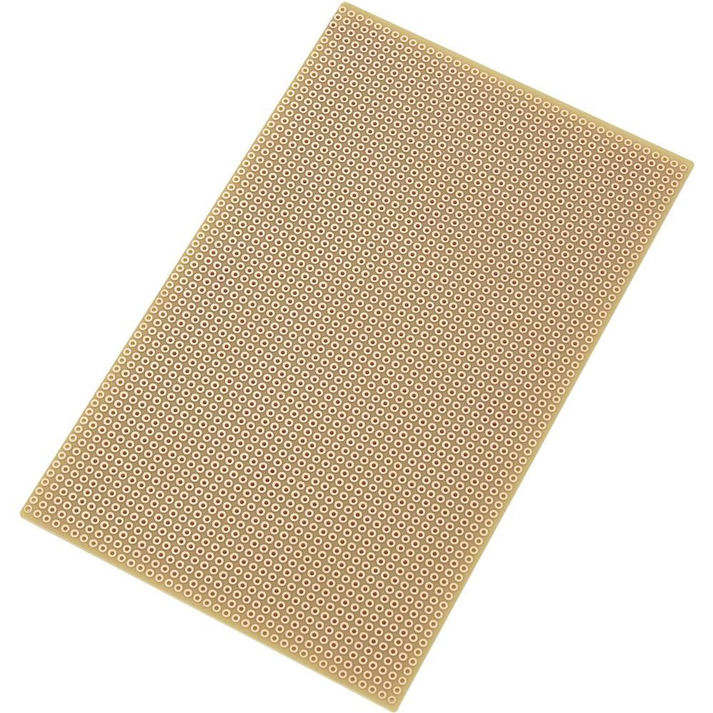 Plošča za tiskano vezje SU527769, 160 mm x 100 mm, 2,54 mm,69, 160 mm x 100 mm, 2,54 mm, Conrad