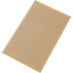 Plošča za tiskano vezje, trdi papir (D x Š) 160 mm x 100 mm 35 µm raster 2.54 mm TRU Components SU527769 vsebina: 1 kos