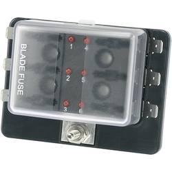 Držalo varovalnake s kazalnikom stanja, primerno za ploščate varovalnake Standard 30 A 32 V/DC TRU Components TC-R3-76-01-3L106