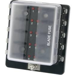 Držalo varovalnake s kazalnikom stanja, primerno za ploščate varovalnake Standard 30 A 32 V/DC TRU Components TC-R3-76-01-3L110