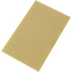 Europlatine (value.1292428) Epoxid (L x B) 160 mm x 100 mm 35 µm Rastermål 2.54 mm TRU COMPONENTS SU527777 Indhold 1 stk