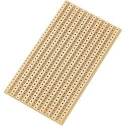 Plošča za tiskano vezje, trdi papir (D x Š) 90 mm x 50 mm 35 µm raster 5.08 mm TRU Components SU527610 vsebina 1 kos