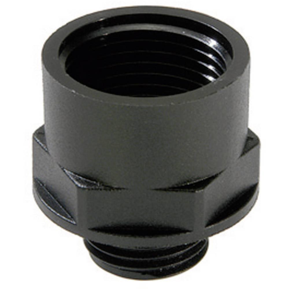 Adapter za kabelsko uvodnico PG13.5 M25, poliamid črne barve (RAL 9005) Wiska ATEX EX-APM 13,5/25 1 kos