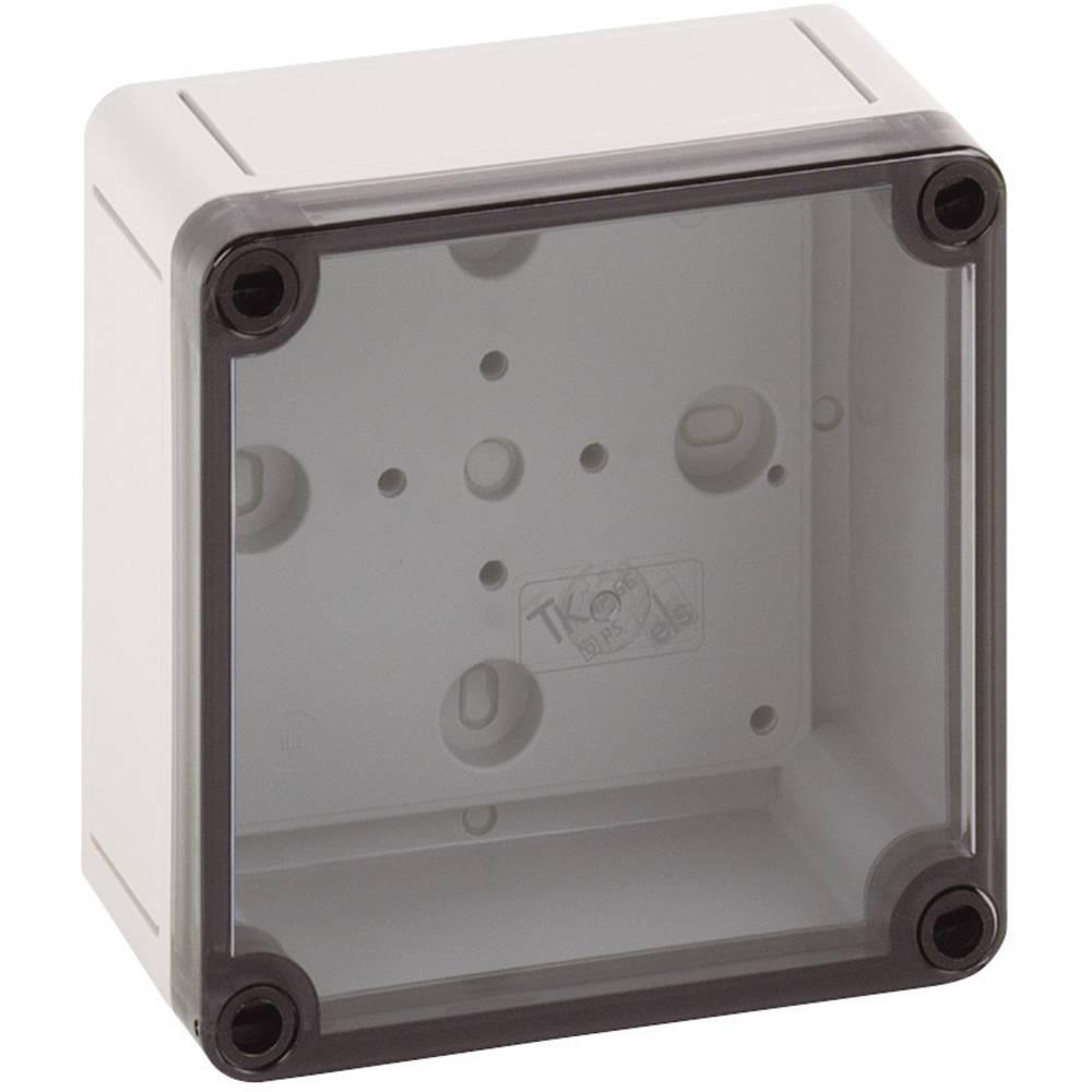 Spelsberg PS 1111-7-t-Instalacijsko kućište, polikarbonat, polistiren, svijetlo sivo (RAL 7035), 110x110x66mm 11100401