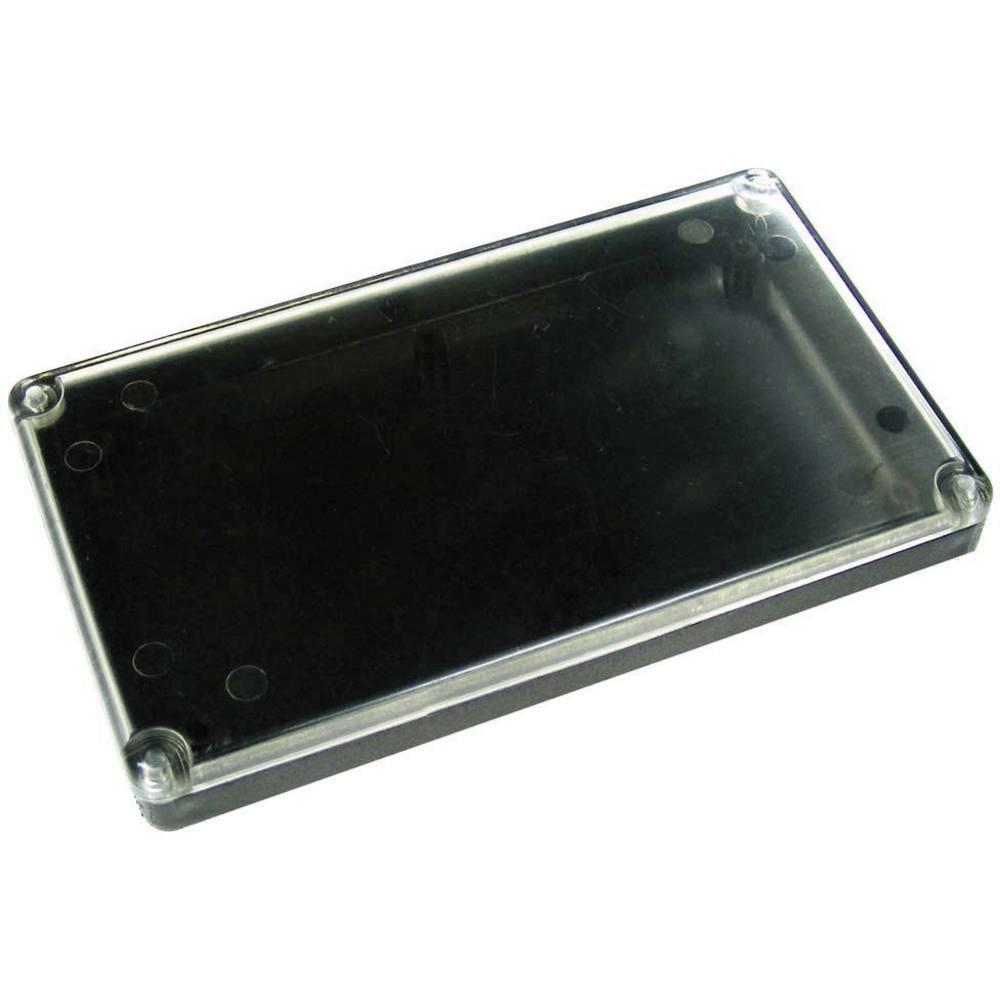 Kemo Ohišje iz umetne mase s prozornim pokrovom G090, (D x Šx V) 120 x 70 x 15 mm, črno