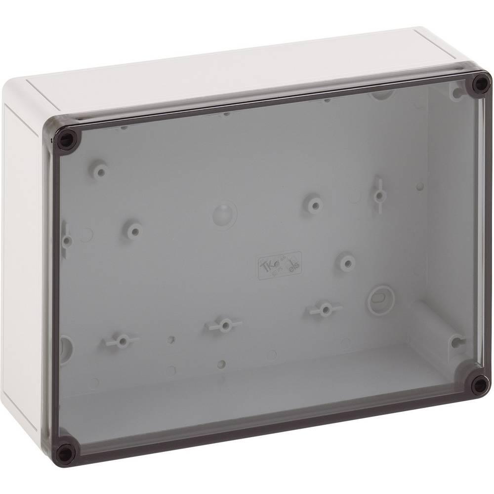Instalacijsko kućište, polikarbonat, polistiren, svijetlo sivo (RAL 7035), 254x180x90mm 11100801 Spelsberg