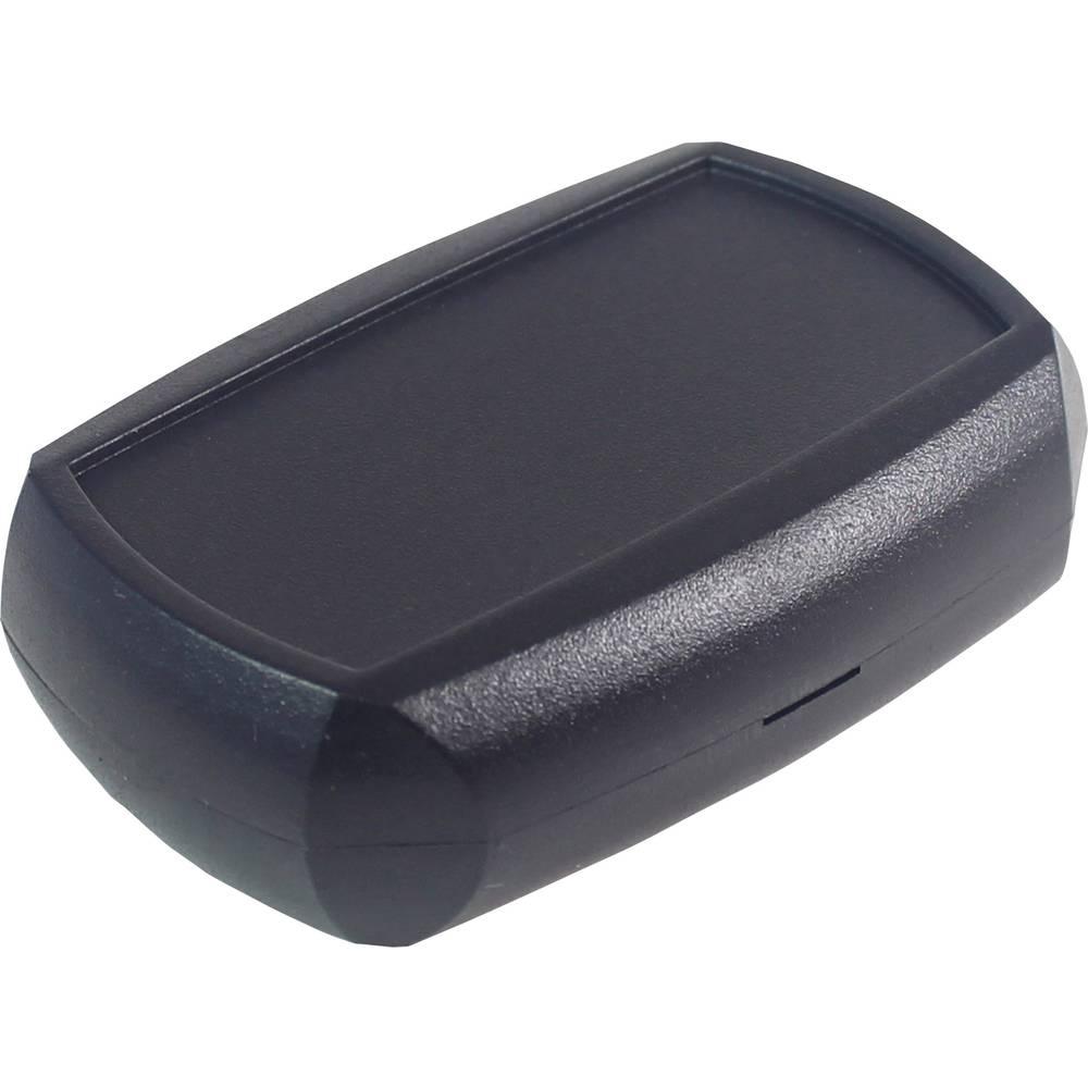 Axxatronic 33131203-CON-Modularno kućište, džepno, ABS crno, 70x50x20mm