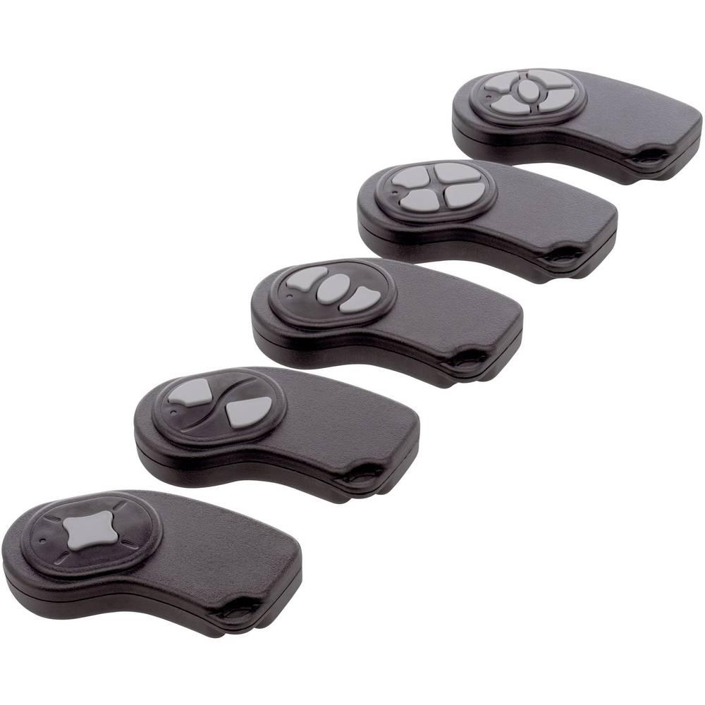 Axxatronic 24080222-CON-Ručno kućište odašiljača serije 22, ABS, 72x32x9,5mm, crno