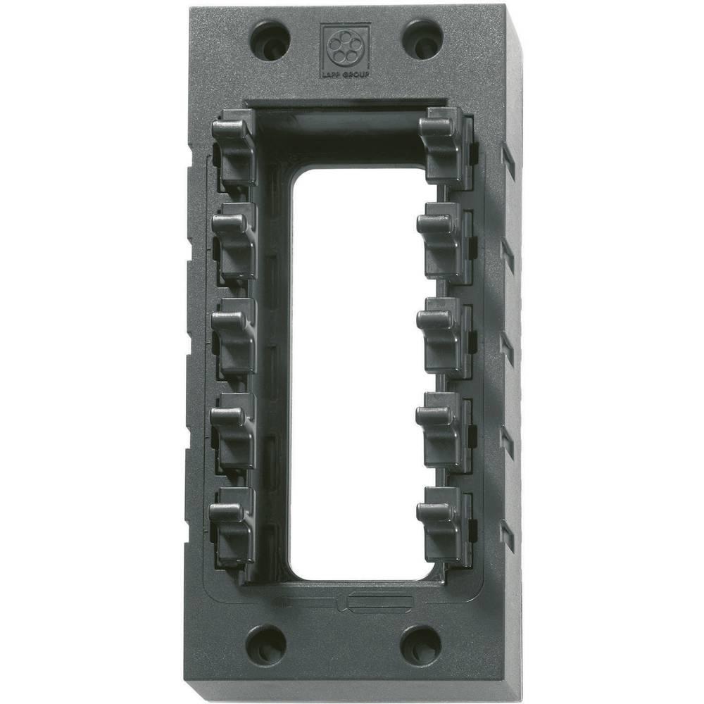 Kabelska uvodnica, osnovni okvir, poliamid, crne boje LappKabel SKINTOP CUBE 24 1 kom.