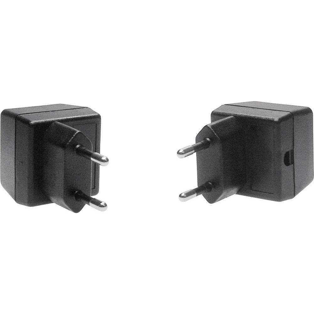 Strapubox SG 6-Utičnica sa kućištem, ABS crna, 37x38x32mm