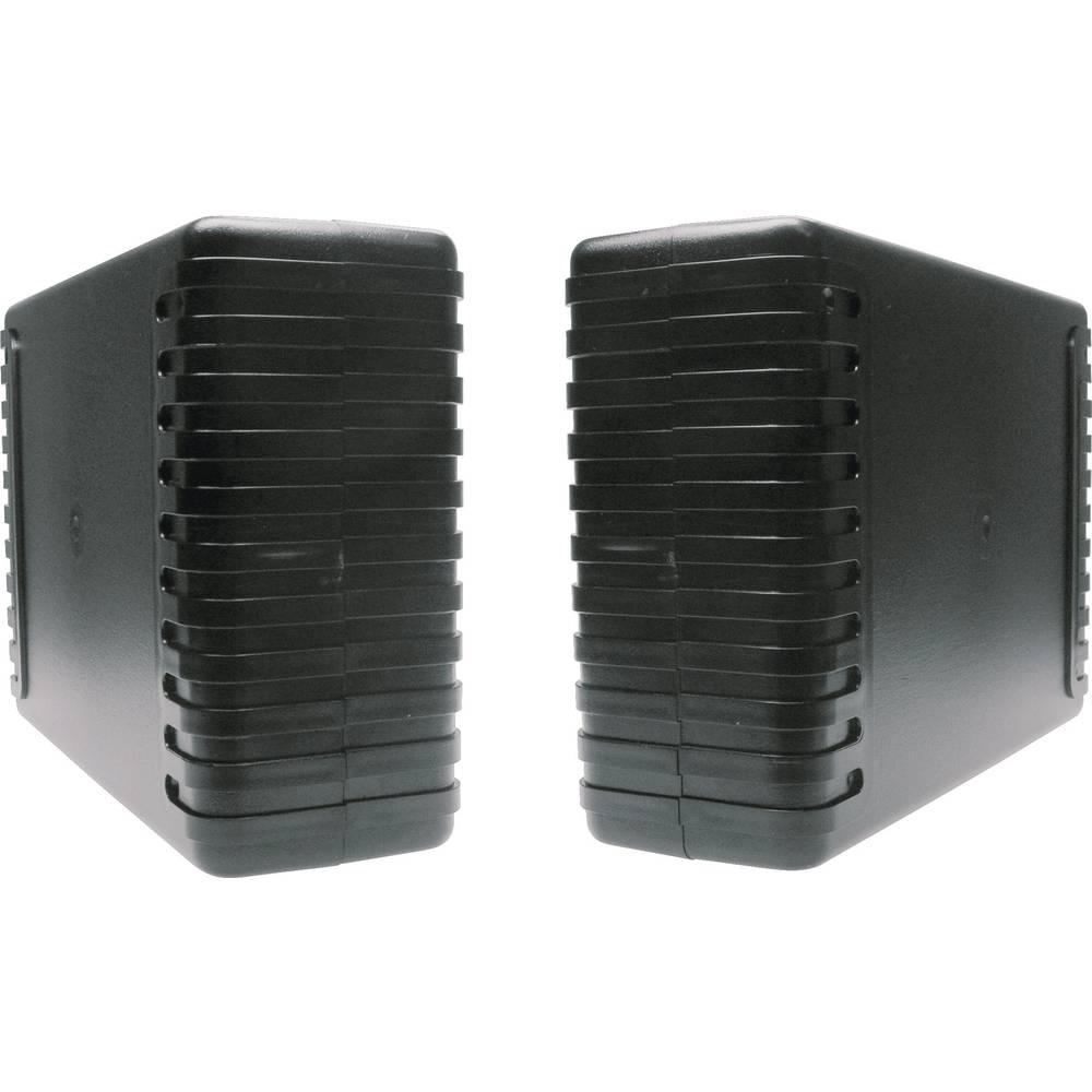 Universalkabinet 220 x 145 x 68 ABS Sort Strapubox 7040 1 stk