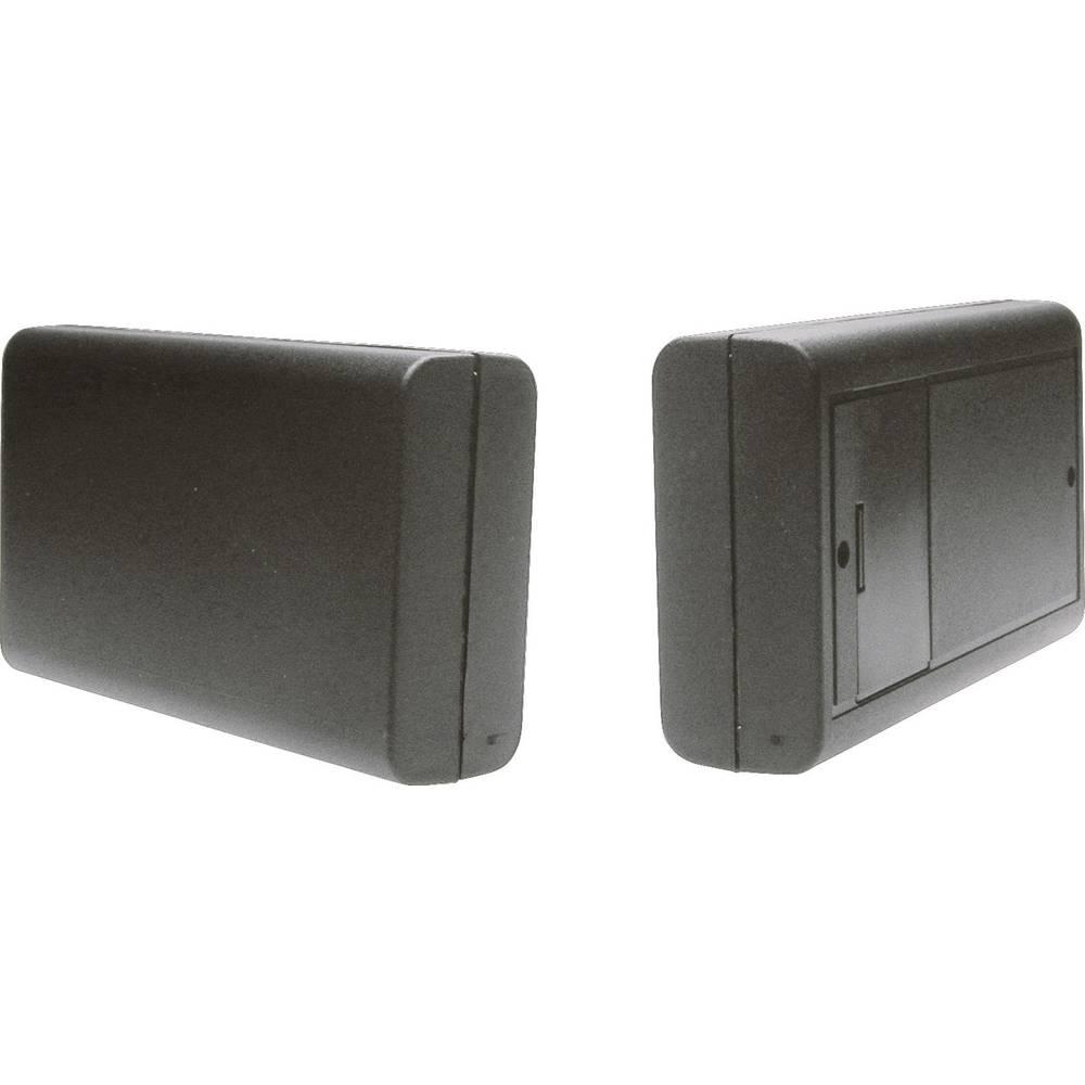 Universalkabinet 123 x 71 x 30 ABS Sort Strapubox 6512SW 1 stk